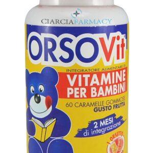 ORSOVIT integratore alimentare 60 caramelle