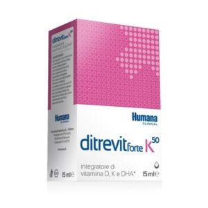 ditrevit forte k50 integratore di vitamina D e K e di DHA