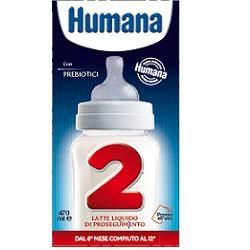 HUMANA 2 GOS 12SLIM 470ML