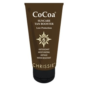 CHRISSIE COCOA tan booster spf 6