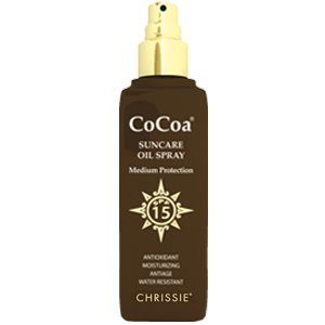 CHRISSIE COCOA oil spray spf 15