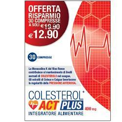 COLESTEROL ACT PLUS 30CPR