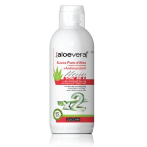 ALOEVERA2 succo puro d'aloe antiossidante