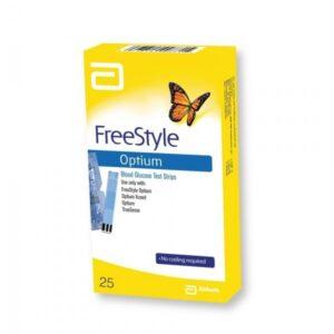 FREESTYLE OPTIUM STRISCE 25PZ